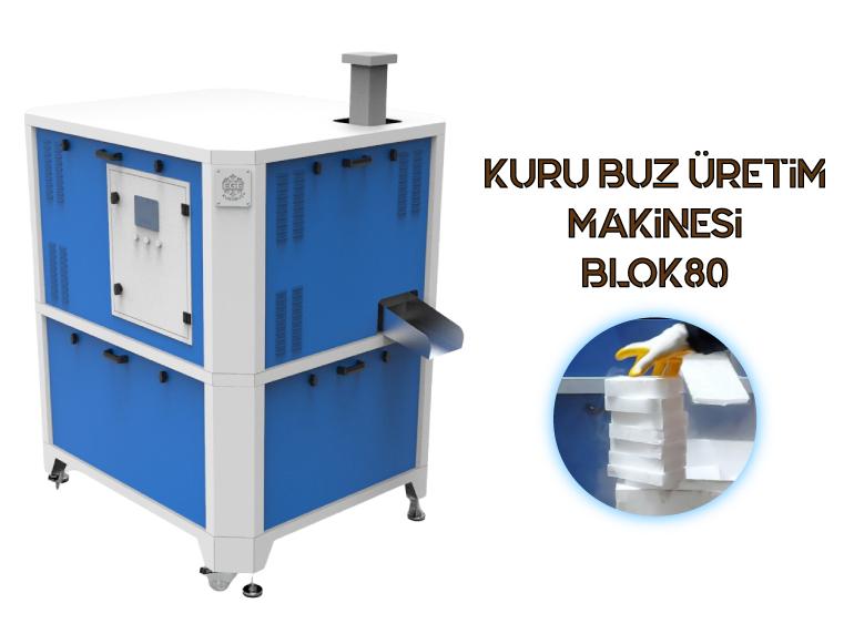 Kuru Buz Üretim Makinesi