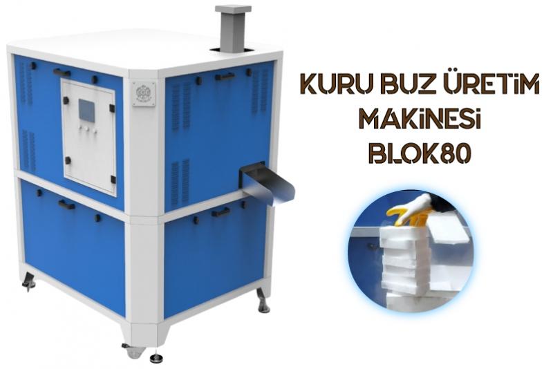 BLOK80 Kuru Buz Üretim Makinesi